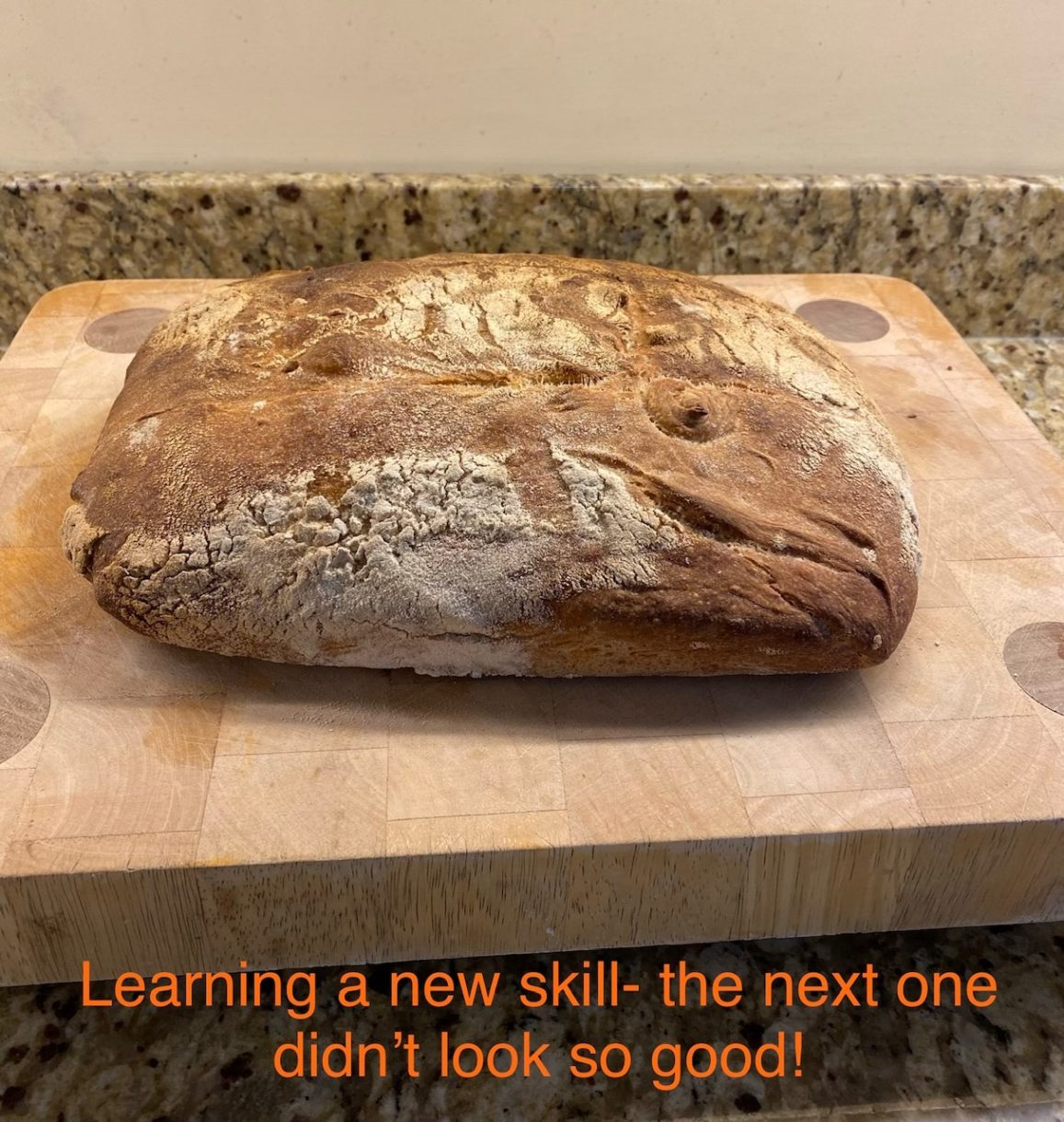 Ralph Metson - Learning a new skill - the next one didnt look so good